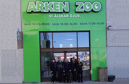 Arken Zoo butikbild